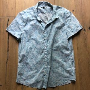 John Varvatos Short Sleeve Button Up-  Large / XL